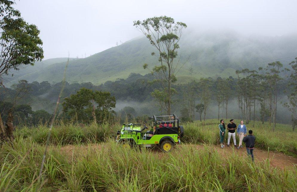 Jeep Safari Thekkady