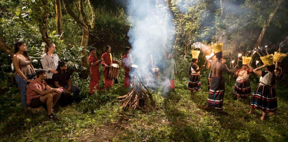 Tribal Dance at Thekkady